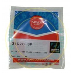 31D73 Spaco 3/16IN Plain Olive