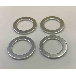 27D84 14mm Aluminium Banjo Washer x 4